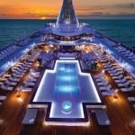 Oceania Cruises - Upper Deck Pool Area