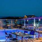 Park Hotel Athens – St' Astra Blue Roof Garden Restaurant